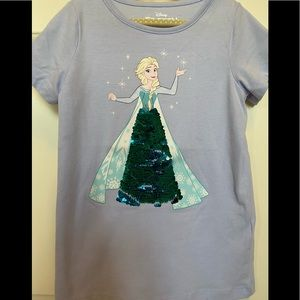 Disney Frozen size 7 tshirt
